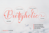Prettyholic |Script Typeface example image 9