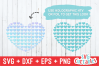 Hearts in a Heart | SVG Cut File example image 2