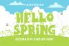 Hello Spring example image 1