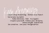 Logan Ann - A Handwritten Font example image 4