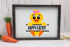 Baby Duck Personalize Design GIRL - An Easter SVG example image 3