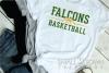 Falcon, Basketball, Sports, Design, PRINT, CUT, DESIGN example image 2
