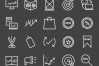 50 Marketing Line Inverted Icons example image 2