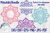 Huge Mandala Bundle | 36 SVG Cut Files example image 11