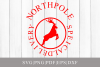 North Pole Special Delivery Xmas SVG Cut File For Cricut example image 1
