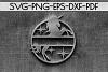 Customizable Unicorn Papercut Template, Unicorn Party SVG example image 2