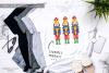 Watercolour Nutcracker - Sublimation PNG Clipart example image 2