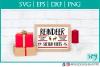 Reindeer Rides, Christmas, SVG, Silhouette Studio example image 1