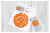 Distressed Basketball Svg Files for Cricut Designs example image 1