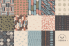 Neutral Hand Drawn Patterns Bundle example image 6