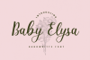 Baby Elysa example image 1