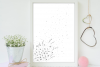Doodle Daisies Artwork, A1, SVG example image 4