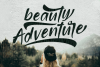 bridamount - a Smooth Handwritten font with extras example image 3