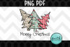 Merry Christmas with Three Trees example image 1