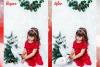 67 Christmas, overlays, photoshop PNG backdrop snow globe example image 8