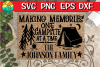 Making Memories - One Campsite At A Time -Link for FREE font example image 1