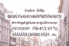 Leyton Hills, a heavy script font example image 7