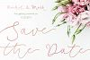 Soft Whisperings wedding font example image 7
