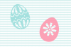 Decorated Easter Egg SVG and Cut File Set example image 4