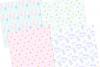 Unicorn Summer Digital Paper example image 3