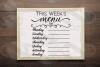 This week's organization svg Bundle, Menu svg, chores svg example image 3