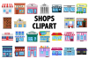 Shops Clipart example image 1