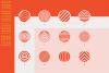 96 Geometric shapes & logo marks VOL.2 example image 2