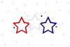 Patriotic Stars SVG File example image 1