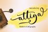 Attiga Script example image 1