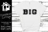 Big Sorority Family SVG Design example image 1