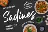 Sadines - Font Duo example image 2