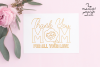 Mothers Day Single Line Designs | Foil Quill | Sketch Design example image 2