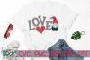 Love Gnome - A Valentine Gnome SVG example image 2