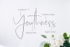 Youthness Family - Modern Script example image 2