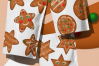 Gingerbread Cookies Christmas Clipart Download PNG Files example image 4