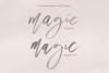 Magic Winter - A Serif/Script Handwritten Font Duo example image 10