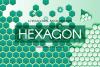 Abstract Hexagonal Backgrounds example image 1