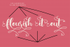 Simply Styled, a flourished ornamental script font example image 5
