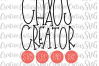 Chaos Creator SVG example image 1