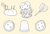 Cute Sewing Digital Stamps example image 4
