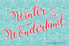 Winter Calligraphy example image 2