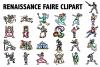 Renaissance Faire Clipart example image 1