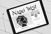 Rain Soul. SVG Font. example image 11