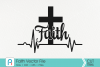 Faith Cross Svg - an easter vector file example image 3