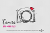 camera clipart - red heart example image 3