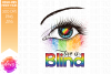 Love is Blind - Pride Eye - Printable Design example image 2