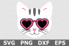 Cat Face - An Animal SVG Cut File example image 2