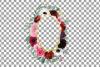 Watercolor elegant floral borders, rose, anemone frames example image 7