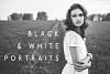 Black & White Portraits Lightroom Presets example image 1