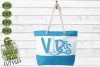 Beach Vibes Surfboard SVG example image 4